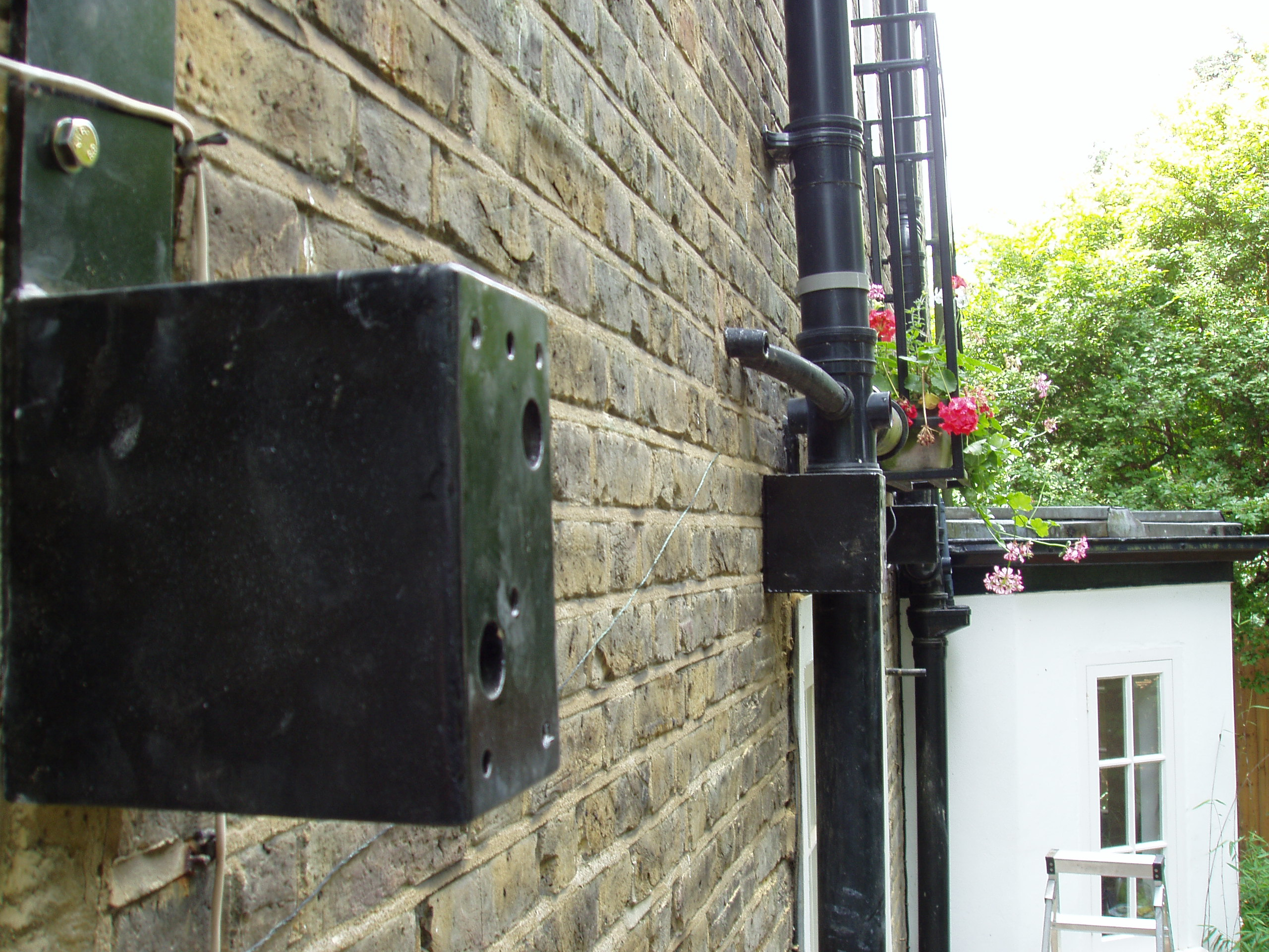 Awning Fitted In Front Of Down Pipes Kover It Blog