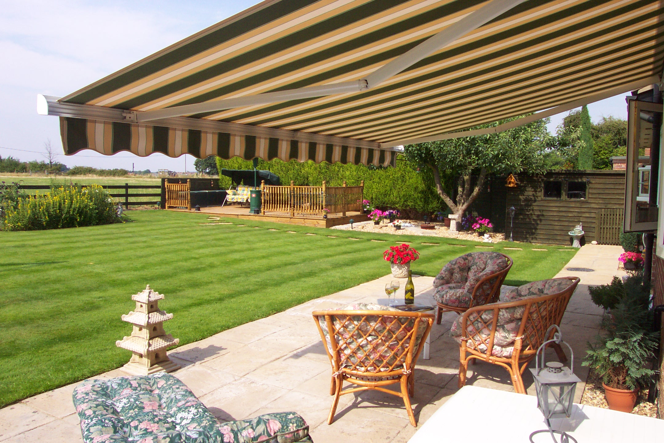Image result for garden awning