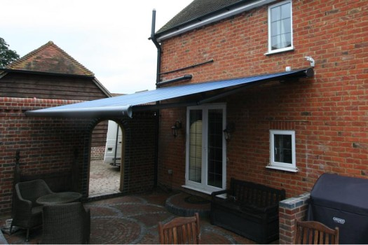 Markilux 6000 Awning in Bllue by Kover-it