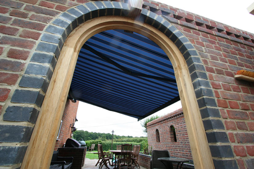 Markilux 6000 Awning Through Arch