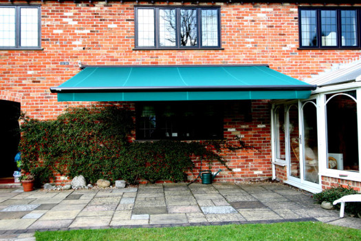 Markilux 1500 Awning in Green by Kover-it