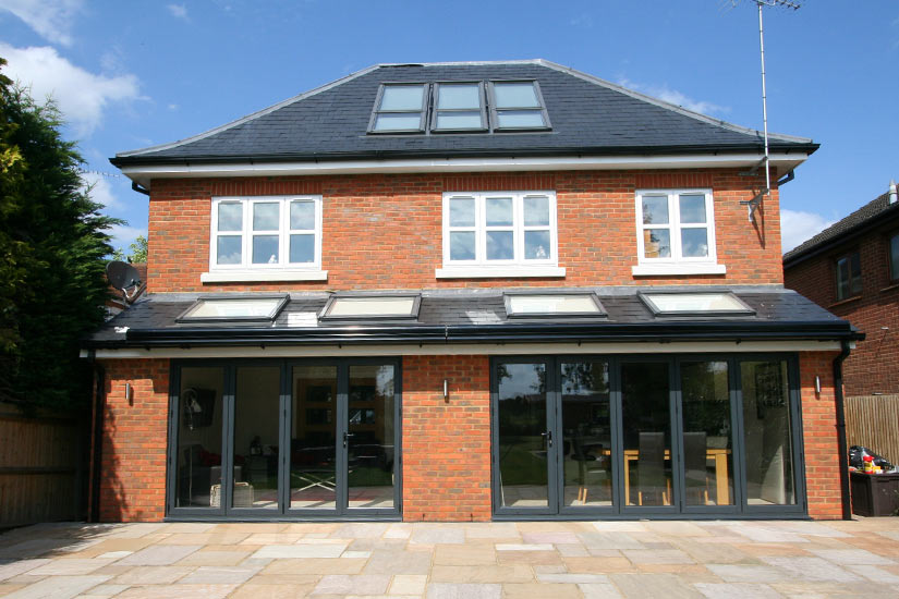 Twin Brustor B28 Patio Awnings - Roof Fit
