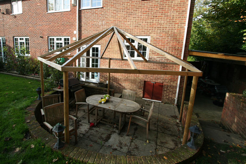 Pergola Roof Top Cover Made by Kover-it - Custom Made Roof Top For Garden Pergola - Kover-it Blog