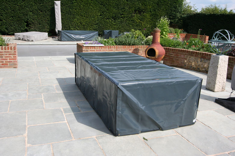Kover-it PVC-ST table cover in anthracite grey