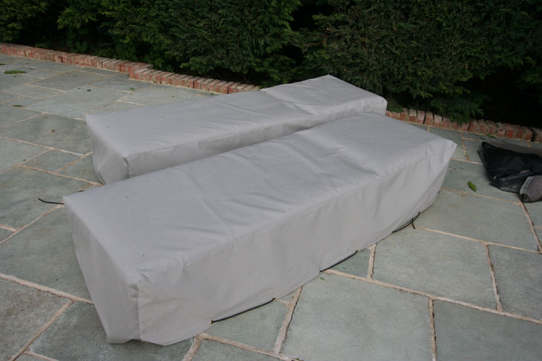 Kover-it sunbed cover in sunbrella textile