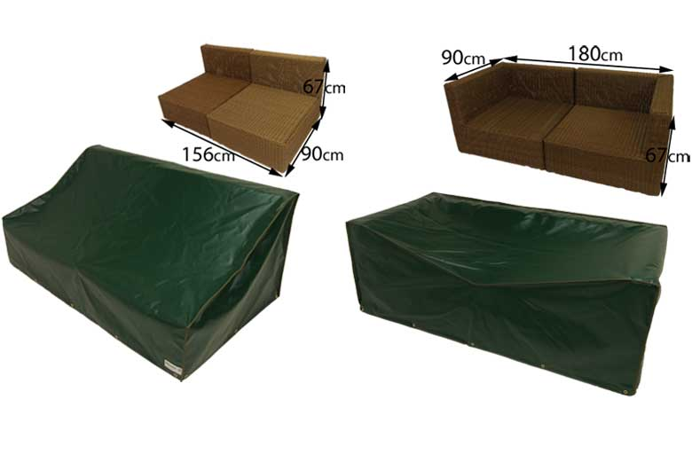 Oceans Rattan sofa covers manufactured by Kover-it