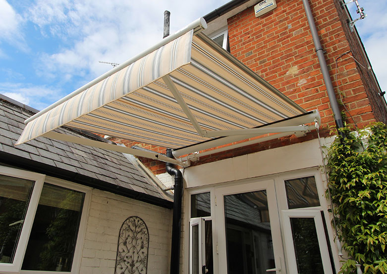 The Markilux 1710 Stretch awning