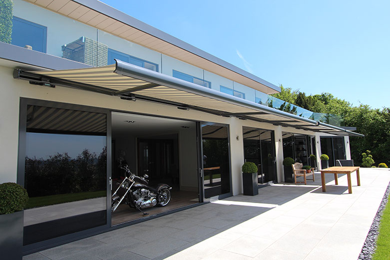 The Markilux 6000 awning
