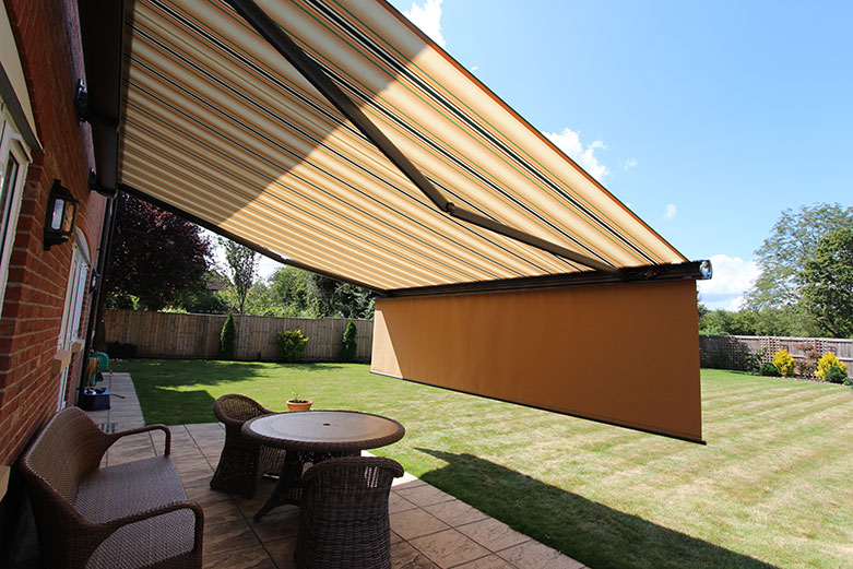 The Markilux 6000 with Shadeplus