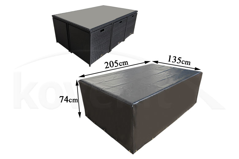 waterproof dining set cover