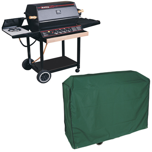 Super Grill BBQ Cover, (PVC Backed Polyester)
