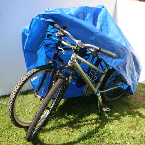 Cycle Cover Double, (Waterproof Polyethylene)