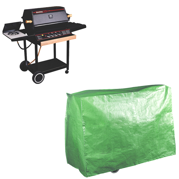 Super Grill BBQ Cover, (Waterproof Polyethylene)