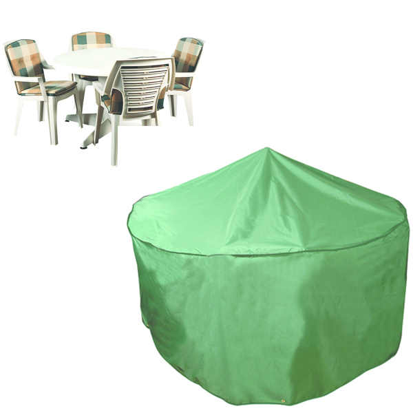 Circular Patio Set Cover - 4/6 seat, (PVC Backed Polyester)