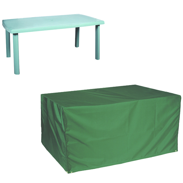 Top Quality Rectangular Table Cover - 8 seat, (PVC Backed Polyester)