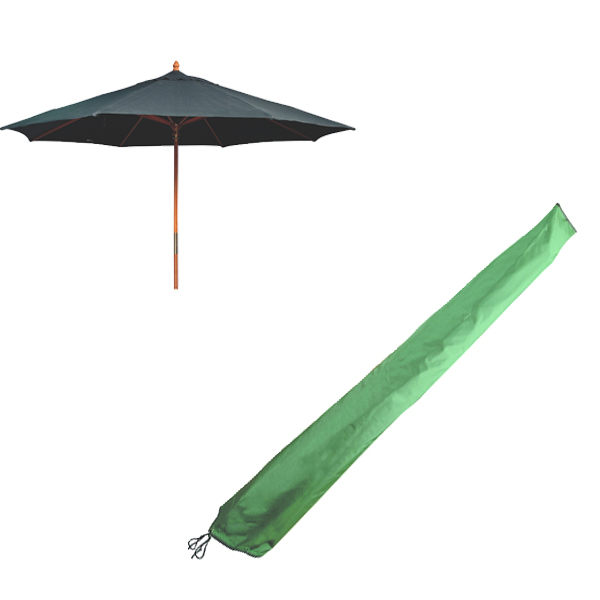 Top Quality Parasol Cover Extra Large Pvc Backed