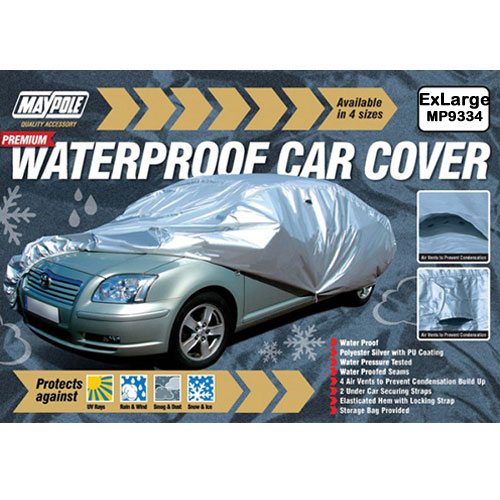 Premium Waterproof Car Cover Extra Large