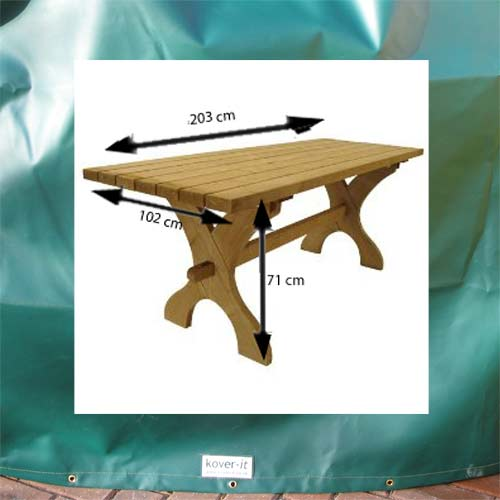 Kover-it Rectangular Table Cover (PVC-ST)