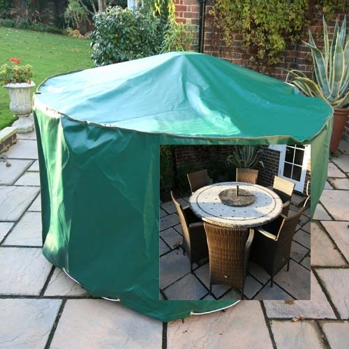 Kover it Circular Patio Set Cover PVC ST