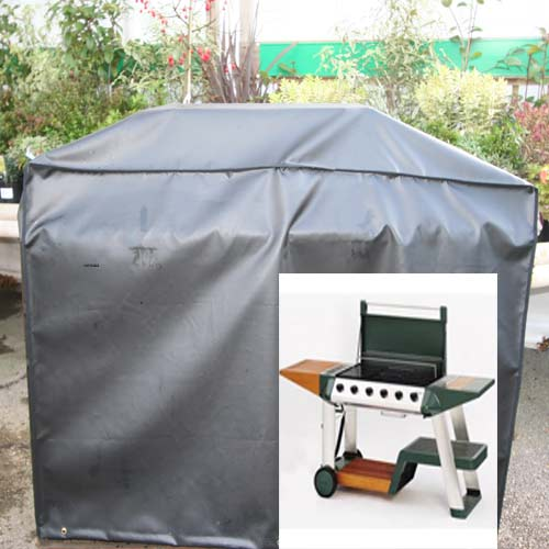 Kover-it BBQ Cover Large Black a (PVC-ST)