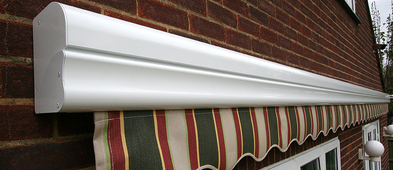 Brustor slimline cassette awnings supplied and installed by Kover-it