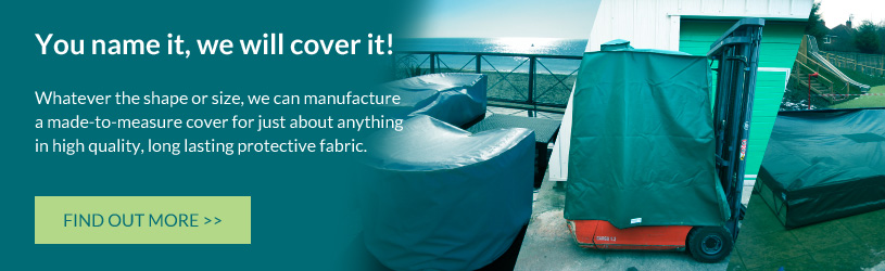 Kover-it make custom made waterprof covers for just about anything, you name it and we will cover it!